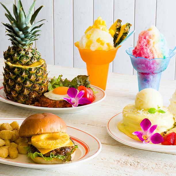 7月のEggs 'n Thingsはパイナップルづくし!! 「In Summer」 ダイナミックにパインを楽しめます♪