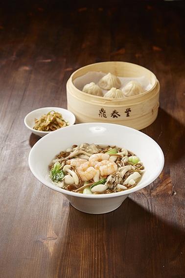 秋のおすすめメニュー 4種のキノコ温麺