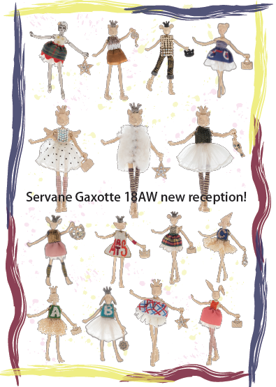 Servane Gaxotte 18AW new arrival reception!