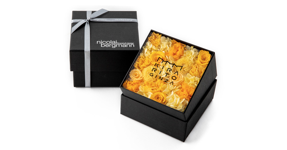 """KIRARITOGINZA"" Original Preserved Flower Box"